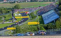 21.05.2016, Red Bull Ring, Spielberg, AUT, DTM Red Bull Ring, Rennen, im Bild Marco Wittmann (GER, BMW M4 DTM), Tom Blomqvist (GRB, BMW  M4 DTM), Edoardo Mortara (ITA, Audi RS 5 DTM) // during the DTM Championships 2016 at the Red Bull Ring in Spielberg, Austria, 2016/05/21, EXPA Pictures © 2016, PhotoCredit: EXPA/ Dominik Angerer
