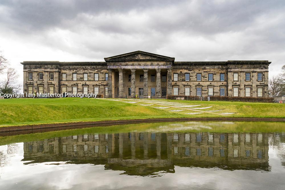 Exterior view of Scottish National Gallery of Modern Art in Edinburgh, Scotland, United Kingdom
