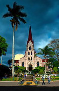 Costa Rica, San Jose, Church of La Merced, Oldest Church In SanJose, Braulio Carillo Park