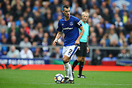 Morgan Schneiderlin of Everton in action. Premier league match, Everton vs Bournemouth at Goodison Park in Liverpool, Merseyside on Saturday 23rd September 2017.<br /> pic by Chris Stading, Andrew Orchard sports photography.
