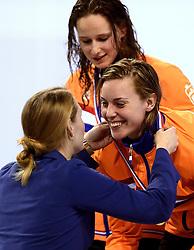 10-04-2014 NED: NK Swim Cup, Eindhoven<br /> Femke Heemskerk, 200m wissel