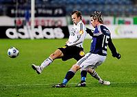 08.03.09 Fotball eliteserien (treningskamp) stavanger stadion Viking - Rosenborg<br /> Marek Sapara rosenborg og Ragnvald Soma Viking