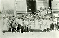 1878 Students at Cahuenga Township School at Normandie & Beverly Blvds.