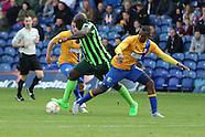 Mansfield Town v AFC Wimbledon 050915
