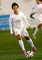 Fifa Womans World Cup Canada 2015 - Preview //  Friendly Match -<br /> Spain vs New Zealand 0-0  ( Municipal Stadium - La Roda , Spain ) <br /> Sarah Gregorius of New Zealand
