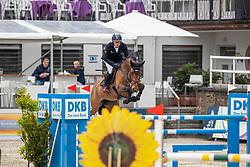 DREHER Hans-Dieter (GER), Prinz 1293<br /> Nörten-Hardenberg - Burgturnier 2018<br /> Preis des Hardenberg GolfResort<br /> Eröffnungsspringen CSI3*<br /> Internationale Springprüfung (1,40 m)<br /> 17. Mai 2019<br /> © www.sportfotos-lafrentz.de/Stefan Lafrentz