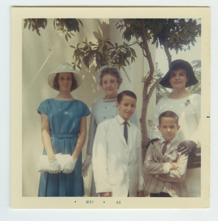 1969 All dressed up at Nana's