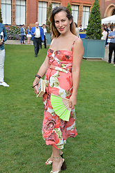 Charlotte Dellal at the V&A Summer Party 2017 held at the Victoria & Albert Museum, London England. 21 June 2017.<br /> Photo by Dominic O'Neill/SilverHub 0203 174 1069 sales@silverhubmedia.com