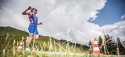 06.07.2013, Kitzbuehel, AUT, ITU World Championship, Dextro Energy Triathlon Kitzbuehel, Elite Damen, im Bild Jodie Stimpson (GBR) // Jodie Stimpson (GBR) during Elite Women of ITU World Championship Dextro Energy Triathlon Kitzbuehel, Austria on 2013/07/06. EXPA Pictures © 2013, PhotoCredit: EXPA/ Juergen Feichter