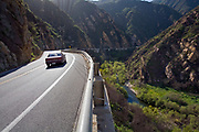 Malibu Canyon Road, Malibu, California, USA