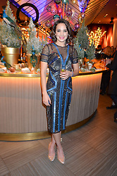 LAURA WRIGHT at the fourth annual Fayre of St James's charity Christmas concert hosted by the Quintessentially Foundation and The Crown Estate in partnership with Deutsche Asset & Wealth Management held at  St James's Church, 197 Piccadilly, London followed by a party at Quaglino's 16 Bury Street, London on 24th November 2015.