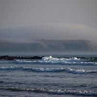 Europe, United Kingdom, Wales, Pembrokeshire. Pembrokeshire Coast at  Freshwater West Beach.