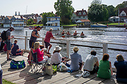 Henley on Thames, England, United Kingdom, 28th June 2019, Henley Royal Regatta Qualifiers, time trial, on Henley Reach, [© Peter SPURRIER/Intersport Image]<br /> <br /> 15:32:00