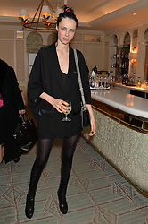 EDIE CAMPBELL at the launch of Mrs Alice in Her Palace - a fashion retail website, held at Fortnum & Mason, Piccadilly, London on 27th March 2014.