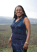 George, WA. - May30th, 2011 Sharon Jones & the Dap Kings pose for a portrait backstage at the Sasquatch Music Festival in George, WA. United States