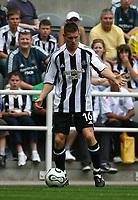 Photo: Andrew Unwin.<br />Newcastle United v PSV Eindhoven. Pre Season Friendly. 29/07/2006.<br />Newcastle's James Milner.