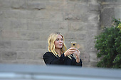 EXCLUSIVE - Gwyneth Paltrow make a visit to the Sagrada Família