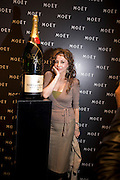 MARIE HELVIN, A Tribute to Cinema party given by Moet and Chandon.Big Sky Studios, Brewery Rd. London.  24 March 2009 *** Local Caption *** -DO NOT ARCHIVE-© Copyright Photograph by Dafydd Jones. 248 Clapham Rd. London SW9 0PZ. Tel 0207 820 0771. www.dafjones.com.<br /> MARIE HELVIN, A Tribute to Cinema party given by Moet and Chandon.Big Sky Studios, Brewery Rd. London.  24 March 2009
