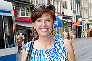 Premiere van de documentaire FREEK in Tushinski, Amsterdam.<br /> <br /> Op de foto:  Chazia Mourali