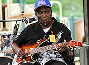 Legendary blues guitarist Honeyboy Edwards plays at the Annual Robert Johnson memorial concert in Mississippi. Photo©Suzi Altman I have photographed the Mississippi Delta for over a decade. Including the rich cultural heritage, the deep religious roots and the music the land produces. ©SuziAltman