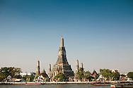 Wat Arun Temple of the Dawn Bangkok Thailand at sunrise