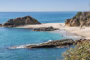 Laguna Beach Coastline Looking North Below the Montage Resort