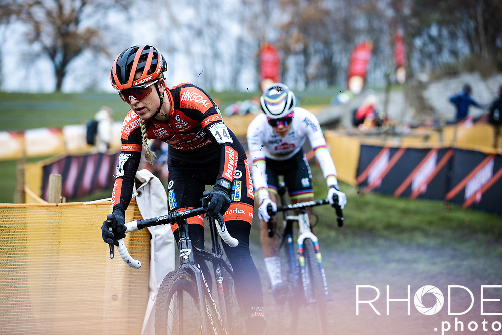 3th place finisher Denise Betsema (NED/Pauwels Sauzen - Bingoal) <br /> <br /> CX Superprestige Boom 2020<br /> Women Elite <br /> <br /> ©RhodeVanElsen