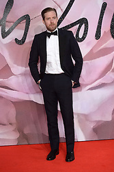Ricky Wilson attending The Fashion Awards 2016 at The Royal Albert Hall in London. <br /> <br /> Picture Credit Should Read: Doug Peters/ EMPICS Entertainment