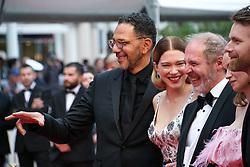 May 22, 2019 - Cannes, Provence-Alpes-Cote d'Azu, France - 72eme Festival International du Film de Cannes. Montée des marches du film ''Roubaix, une lumiere (Oh Mercy!)''. 72th International Cannes Film Festival. Red Carpet for ''Roubaix, une lumiere (Oh Merci!)'' movie.....239726 2019-05-22 Provence-Alpes-Cote d'Azur Cannes France.. Zem, Roschdy; Desplechin, Arnaud; Seydoux, Léa (Credit Image: © Philippe Farjon/Starface via ZUMA Press)
