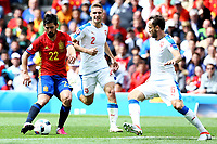 Nolito Spain, Vladimir Darida Czech <br /> Toulouse 13-06-2016 Stade de Toulouse Footballl Euro2016 Spain - Czech Republic  / Spagna - Repubblica Ceca Group Stage Group D. Foto Matteo Ciambelli / Insidefoto