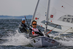 , Kieler Woche 16.06. - 24.06.2018, Laser Std. M - CAN 211542 - Robert DAVIS - Kingston YC _ Royal Canadian YC