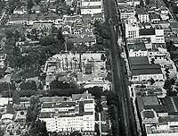 1926 Looking west down Hollywood Blvd. near Orange Dr.