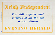 All Ireland Senior Hurling Championship Final,.06.09.1959, 09.06.1959, 6th September 1959,.Minor Kilkenny v Tipperary, .Senior Kilkenny v Limerick, Waterford 3-12. Kilkenny 1-10, ..Advertisement, Irish Independent, Evening Herald,
