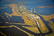 Isle de Jean Charles , in Terrebonne Parish, Louisiana. The community in Isle de Jean Charles won a grant to relocate due to coastal erosion paired with rising tides.