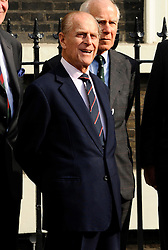 The Duke of Edinburgh, President of the In & Out Club , at a parade to celebrate the club's 150th birthday in London, Thursday, 1st  March 2012.  Photo by: i-Images