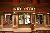 Royal Caribbean International's  Independence of the Seas, the world's largest cruise ship...Onboard feature pictures...Perfume shop on the Royal Promenade.
