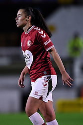 Laura Rafferty of Bristol City Women - Mandatory by-line: Ryan Hiscott/JMP - 14/11/2020 - FOOTBALL - Twerton Park - Bath, England - Bristol City Women v Tottenham Hotspur Women - Barclays FA Women's Super League