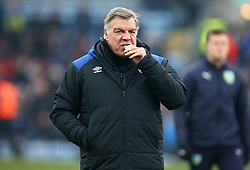 Everton manager Sam Allardyce during the Premier League match at Turf Moor, Burnley.