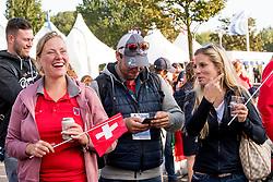 Emma Uusi-Simola, Sean Vard, <br /> EC Rotterdam 2019<br /> © Hippo Foto - Sharon Vandeput<br /> 19/08/19