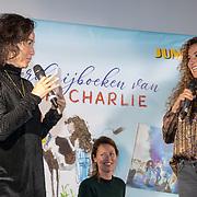 NLD/Hilversum/20181002 - Presentatie boederijboeken 2018, Birgit Schuurman en zus Katja Schuurman