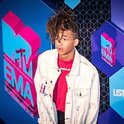 NLD/Rotterdam/20161106 - MTV EMA's 2016, Jaden Smith