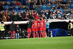 January 10, 2018 - Madrid, Spain - Real Madrid vs Numancia during Copa del Rey match in Santiago Bernabeu Stadium. The match is tie to 2-2. (Credit Image: © Alberto M. Villa/Pacific Press via ZUMA Wire)