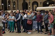 Tourists, London Bridge. 23 June 2019