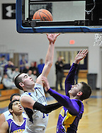 Lakewood at Midview boys JV basketball on February 15, 2013. Images © David Richard and may not be copied, posted, published or printed without permission.