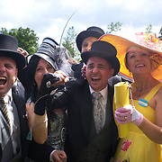 Connections of Australian horse Scenic Blast celebrate it's famous victory after winning The King's Stand Stakes, The British leg of the global sprint challenge, at Royal Ascot 2009, Ascot, UK, on Tuesday, June 17, 2009. Photo Tim Clayton.