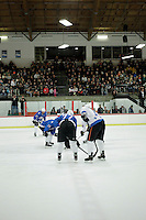 14 December 2012:  NHLPA players skated in a Charity Game at The Rinks -Anaheim Ice benefiting the Jr. Ducks Pee Wee AAA team and The Children's Hospital of Orange County.  The players skated 4 on 4 with a standing room only capacity of fans with over 500 tickets sold. The White team won the game 10-6 in a Ducks vs Kings lineup.  The NHL is in its 92nd day of locking out their players.