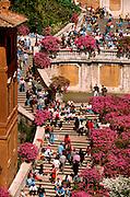 ITALY, ROME, LANDMARKS Piazza di Spagna or Spanish Steps