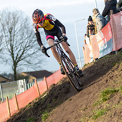 11-01-2020: Wielrennen: NK Veldrijden: Rucphen <br />Thijs Bakker