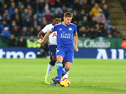 December 8, 2018 - Leicester, England, United Kingdom - Leicester, December 08, 2018.Leicester City's Marc Albrighton.during the English Premier League match between Leicester City and Tottenham Hotspur at the King Power Stadium in Leicester, Britain, 8 December 2018  (Credit Image: © Action Foto Sport/NurPhoto via ZUMA Press)