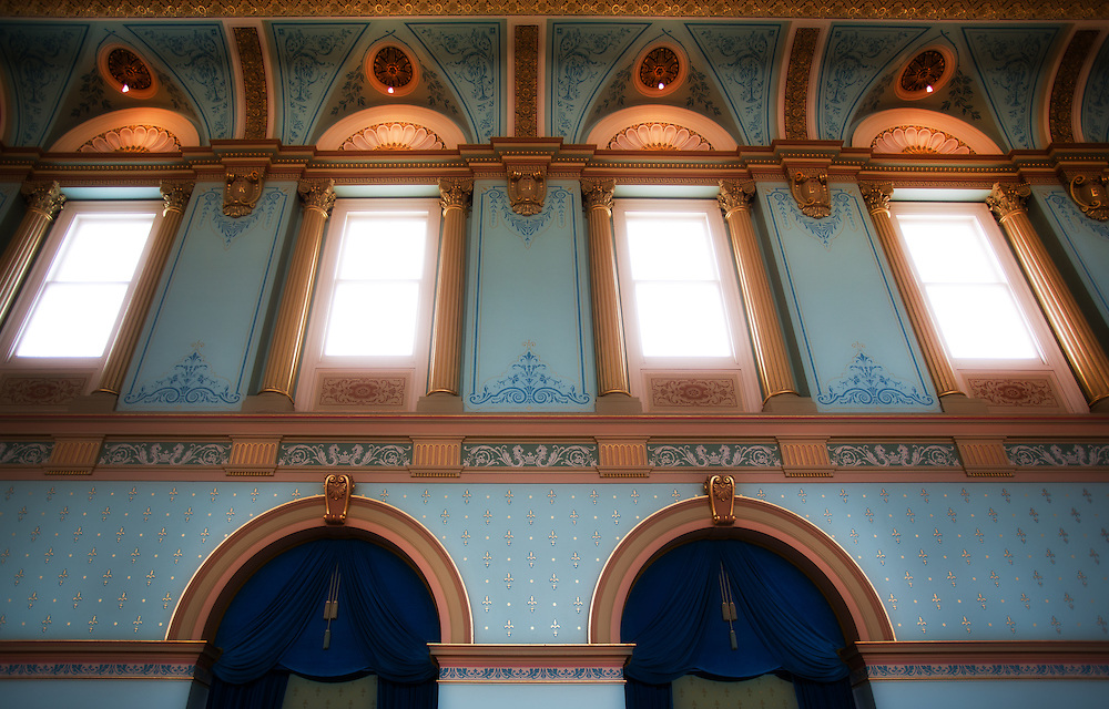 Government House, Melbourne Australia, Grand Ballroom melbourne photographers, commercial photographers, industrial photographers, corporate photographer, architectural photographers, This photograph can be used for non commercial uses with attribution. Credit: Craig Sillitoe Photography / http://www.csillitoe.com<br /> <br /> It is protected under the Creative Commons Attribution-NonCommercial-ShareAlike 4.0 International License. To view a copy of this license, visit http://creativecommons.org/licenses/by-nc-sa/4.0/.